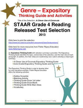 STAAR Release Analysis & Activities: A Clever Use of Cocon