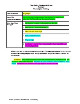 STAAR Release Analysis & Activities: Fear Takes Center Stage, Grade 5