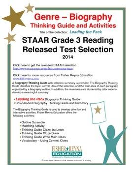 STAAR Release Analysis & Activities: Leading the Pack, Grade 3