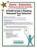 STAAR Release Analysis & Activities: Squirrles Using Snakeskin?, Grade 4