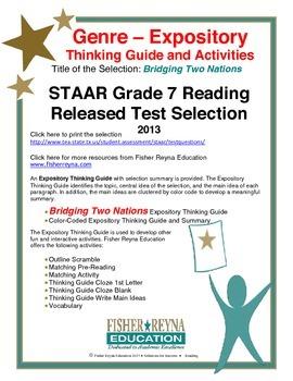 STAAR Release Analysis & Activities: Bridging Two Nations, Grade 7