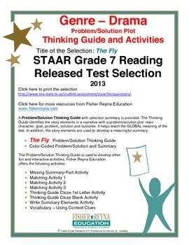 STAAR Release Analysis & Activities: The Fly, Grade 7