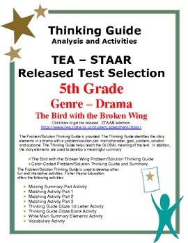 STAAR Release Analysis & Activities: The Bird with a Broken Wing, Grade 5