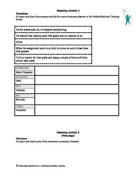 STAAR Release Analysis & Activities: Back to First Grade, Grade 6