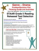 STAAR Release Analysis & Activities: Carl is on the Case, Grade 5