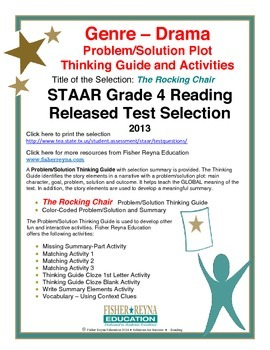 STAAR Release Analysis & Activities: The Rocking Chair, Grade 4