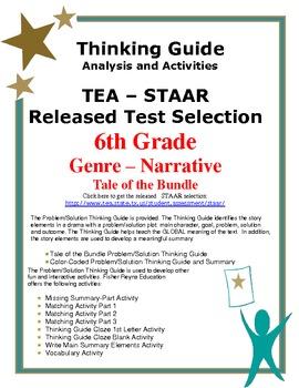 STAAR Release Analysis & Activities: Tale of the Bundle, Grade 6