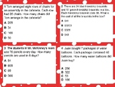 STAAR Review - 2-digit X 1-digit Multiplication Word Problems