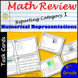 Test Prep for STAAR Review 6th Grade Math - Task Cards for Reporting Category 1