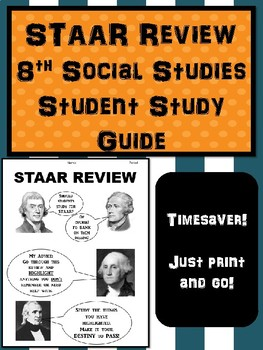 STAAR Review 8th Social Studies Student Review Handout