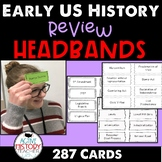 US History Headbands 8th STAAR Review
