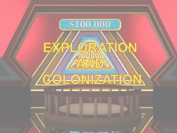 STAAR Review: Colonization and American Revolution $100,000 Pyramid