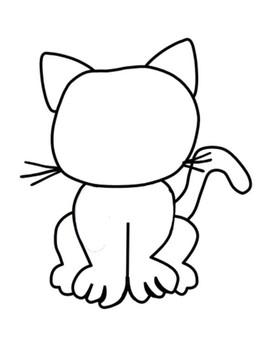 STAAR Review Color the Cat Activity 5.3H, 5.3L, 5.2C, 5.3K