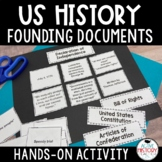 Founding Documents Review - Sorting Activity - Great for STAAR Review