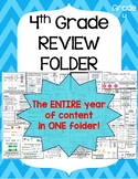 STAAR Review Folder- 4th grade