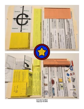 STAAR Review Folder w/ Foldables for Grade 5 Math