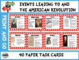 3 Truths and A Lie: Events Leading to and the American Revolution