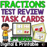 Fraction Task Cards- Grade 3  (Great for Test Review!)