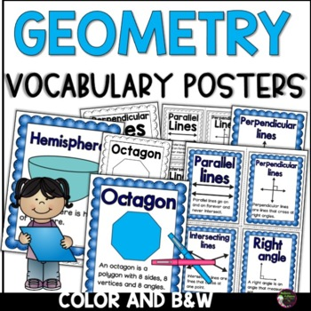Geometry: Grade 3 Test Review Task Cards
