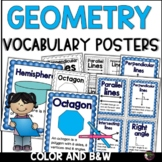 Geometry Task Cards- Grade 3 (Great for Test Review!)