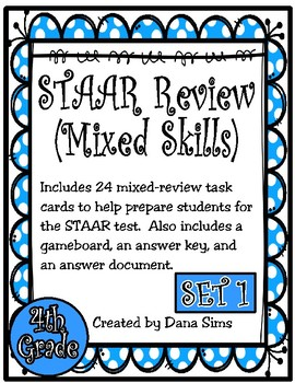 STAAR Review (Mixed Skills) by Dana Sims | Teachers Pay ...