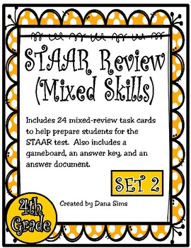STAAR Review (Mixed Skills) Set 2