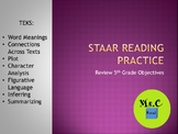 5th Grade STAAR Reading Review Power Point
