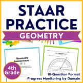 4th Grade Math STAAR Practice Geometry TEKS Aligned