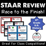 STAAR Review - Race to the Finish!  - 8th Social Studies