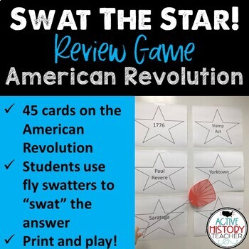 Staar us history review teaching resources teachers pay teachers staar 8th ss review swat the staar game american revolution publicscrutiny Images