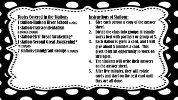STAAR Review: Task Cards #4
