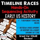 STAAR 8th Social Studies Review:  Timeline races