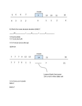 STAAR Review Worksheet irrational, rational, and stats