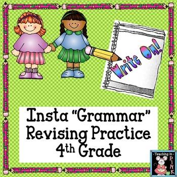 """STAAR Revise Practice with No Stress Insta """"Grammar"""""""
