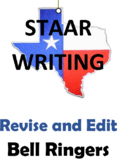 STAAR Revise and Edit Bell Ringers