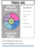 STAAR Revising Central Idea Part 2
