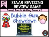 STAAR Revising Game: Bubble Gum Showdown & Task Cards TEKS