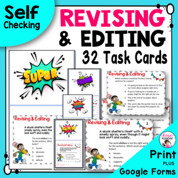 Revising and Editing Writing Test Prep