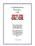 STAAR Revising and Editing: Beat the Clock Capitalization