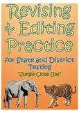 """STAAR Revising and Editing Practice- """"Jungle Close Ups"""""""