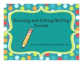 STAAR Revising and Editing Review