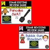 STAAR Revising and Editing Sweet Treats Game BUNDLE