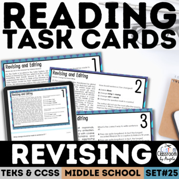 Staar Revision And Editing Practice Worksheets Teaching