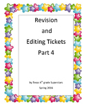 STAAR Revision and Editing Part 4