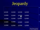 STAAR Rounding Jeopardy Game for Third Grade