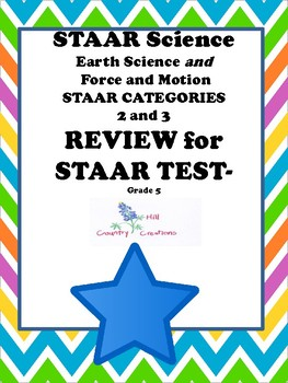 STAAR Earth Science, Force and Motion:  Science Review ...Grade 5