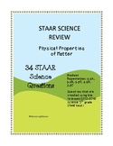 STAAR 5th grade SCIENCE REVIEW: Physical Science 34 STAAR SCIENCE QUESTIONS