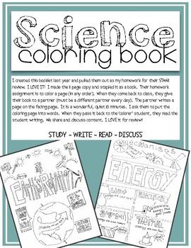 5th grade science coloring book - Science Coloring Book