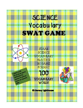 STAAR SCIENCE: Science Vocabulary Swat Game