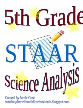 STAAR Science Analysis 5th Grade